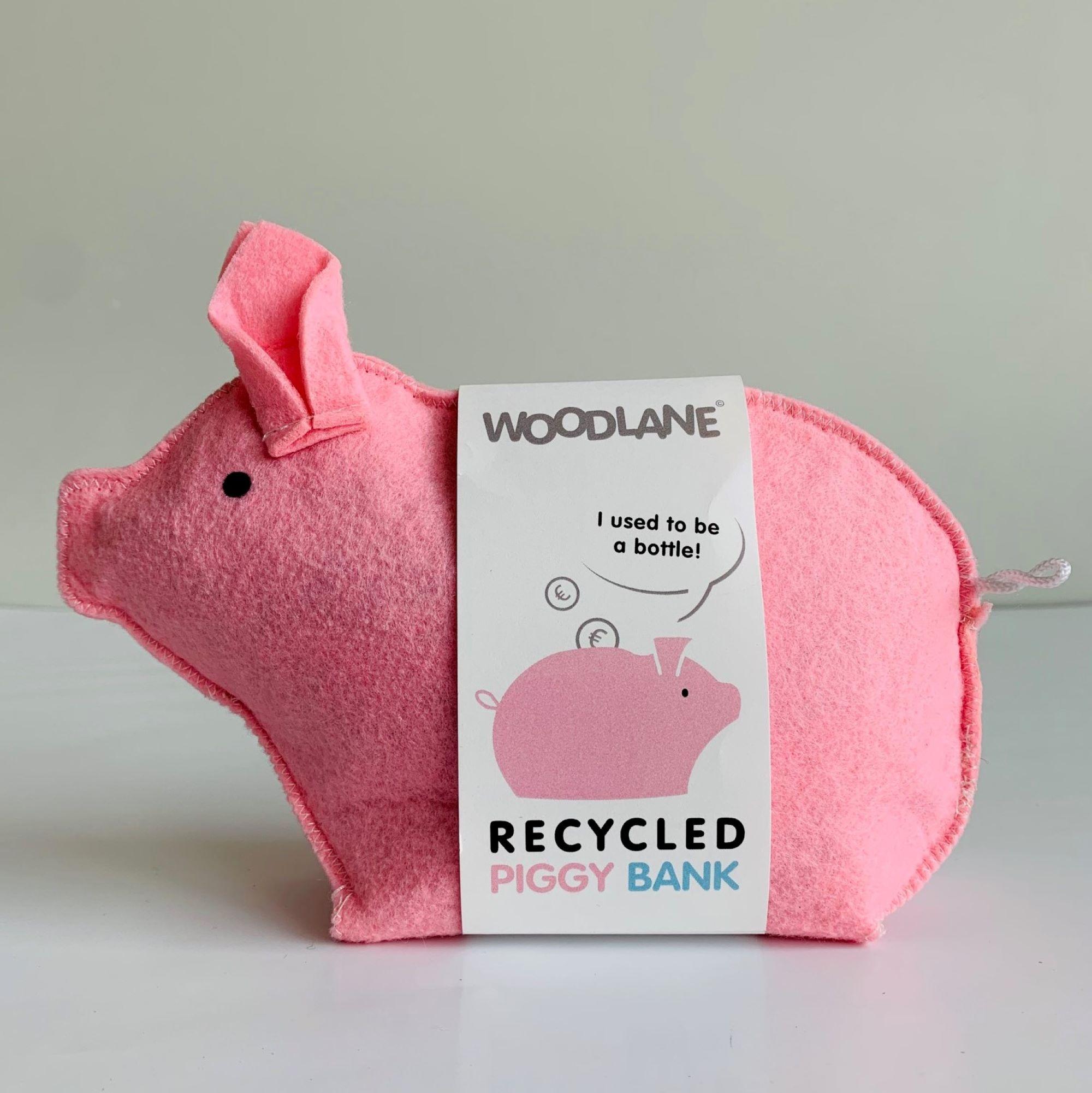 Roze Piggy met sleeve